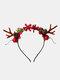 12 Pcs Accessoires De Cheveux De Noël Enfants Oreilles De Chat Mignon Bandeau De Coiffure Elk - #dix