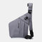 Men Multi-pocket Waterproof Casual Crossbody Bag Chest Bag - Grey