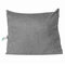 <US Instock>バックボルスター三角ウェッジ読書枕Soft電話ポケットと取り外し可能なカバー付きヘッドボードデイベッドクッション - ライトグレー