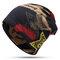 Женская зимняя теплая этническая шапка Шапка Винтаж Хорошая эластичная шапка для шарфа-тюрбана - #03