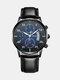 Alloy Business Casual Sports Belt Watch Quartz Watch For Men - #01