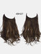40 Colors Fishing Line Long Curly False Hair Pieces No-Trace Hair Extensions - 20