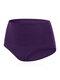 Bragas de levantamiento de cadera con control de vientre de cintura alta de algodón de talla grande - Violeta