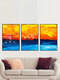 1/3Pcs Colorful Painting Landscape Graffiti Pattern Canvas Painting Unframed Wall Art Canvas Living Room Home Decor - A+B+C