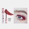 3D Colorful Mascara Long Curling Thick Silky Waterproof Lasting Eyelash Extension Beauty Makeup - Red