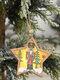 1Pc Christmas Ornament Lighted Wooden Walnut Soldier Pendant Small Tree Pendant Pendant - #05