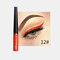 Matte Liquid Eyeliner Quick Dry Wasserdichter Eyeliner Bleistift Braun Lila Farbe Eyeliner Kosmetisches Make-up-Werkzeug - 12