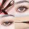 Lazy Ring Eyeliner Liquid Pen Quick-Drying Waterproof Sweat-Proof Not Blooming Eyeliner Eye Makeup - Brown