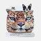 Creative Dust Mask Tiger Animal Cartoon Plush Mask - 02