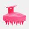 Hair Scalp Massager Shampoo Brush Head Scalp Massage Brush Remove Dandruff Promote Hair Growth Shampoo Brush - Pink