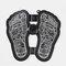 Mini masseur de pied rechargeable coussin de pied Portable Pulse ménage pied relaxant masseur - Noir