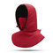 Women Winter Warm Casual Hat Outdoor Riding Ear Protection Thick Windproof Ski Facemask Hat - Red