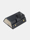 2/3/4/5/6 Grids Father's Day Gift Multifunctional Foldable Sunglasses Storage Case PU Leather Durable Door Hanging Glasses Case - #05