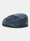 पुरुषों और महिलाओं के कपास विरोधी पहनने शैली पत्र कढ़ाई व्यक्तित्व फ्लैट टोपी बेरेट टोपी आगे टोपी - नीला