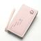 Sacs de rangement universels pour cartes de téléphone PU Long portefeuille sac à main pour Xiaomi Huawei Samsung iPhone 7 - Rose