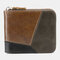 Genuine Leather Multi-slots Casual Card Holder Wallet Purse For Men - #06