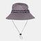 Fishing Hat Summer Outdoor Sun Protection Leisure Hiking Hat - Dark Green