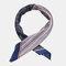 Retro Print Imitation Silk Small Square Scarf Satin Silk Scarf Headband Wild Scarf - #03
