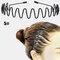 スポーツスタイル男性女性ヘッドバンドヘアピンフェイスウォッシュバックプレッシャーヘアノンハートヘアヘアアクセサリー - 5