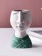 1PC Art Portrait Flower Pot Vase Sculpture Resin Human Face Family Flower Pot Handmade Garden Storage Flower Arrangement Home Decors - Boy-2
