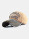 Men Washed Cotton Embroidery Baseball Cap Outdoor Sunshade Adjustable Hats - #07