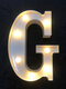 LED English Letter And Symbol Pattern Night Light Home Room Proposal Decor Creative Modeling Lights For Bedroom Birthday Party - #07