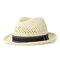 Мужчины Женское Летняя соломенная трикотажная солнцезащитный крем Jazz Cap На открытом воздухе Повседневное путешествие Море Шапка