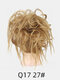 41 Colors Chicken Tail Hair Ring Messy Fluffy Rubber Band Curly Hair Bag Wig - 20