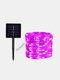 50/100/200 Pcs LED Solar Light Outdoor Waterproof Fairy Garland String Lights Christmas Party Garden Solar Lamp Decoration - Pink