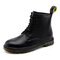 Men Classic Work Style Outdoor Slip Resistant Ankle Boots - Black