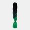 HalloweenColored Gradient Dirty Braids High Temperature Fiber Big Braids Ponytail Hair Extensions - 46