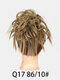 41 Colors Chicken Tail Hair Ring Messy Fluffy Rubber Band Curly Hair Bag Wig - 37