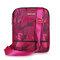 Women Nylon Crossbody Bag Lightweight Shoulder Bag  - Rose