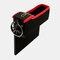 Boîte de rangement pour siège de voiture Boîte de rangement pour pièces de monnaie en cuir multifonction - Noir1