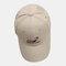 Men & Women Universe Planet Embroidered Baseball Cap Sunscreen Cap - Khaki