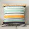 Orange Abstract Pattern Cotton Linen Pillow Case Home Fabric Sofa Mediterranean Cushion Cover