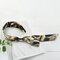 Bohemian Temperament Satin Streamer Headband Bow Tie Headband - Black