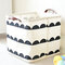 Simple Style Waterproof Linen Portable Storage Baskets Home Clothes Toy Bathroom Organizer