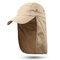 Men Women Outdoor Sports Cotton Wild Cap Casual Visors Breathable Baseball Cap - Khaki