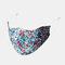 Multicolor Cotton Floral Mask Vintage Print Face Mask - #05