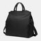 Women 15.6'' Laptop Expandable Handbag Crossbody Bag - Black