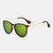 Винтаж Круглые солнцезащитные очки для Женское Classic Ретро-стиль На открытом воздухе Очки Солнцезащитные очки высокой четкости - №9