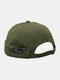 Unisex Cotton Smile Face Pattern Retro Casual Brimless Beanie Landlord Hat Skull Hat - Green