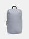 Oxford Multicolor Minimalist Stress Reliever Splashproof Breathable Outdoor Travel Backpack - Gray
