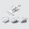 4 Pcs/Set Pressing Water Spray Glass Cleaning Artifact Household High-Rise Water Jet Window Brush Cleaning Tool - White