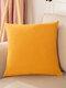 1 PC 45*45CM Simple Cotten Linen Cushion Cover Throw Pillow Cover Pillowcase Soild Pattern For Home Car Office Supplies - #02