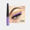 Matte Liquid Eyeliner Quick Dry Wasserdichter Eyeliner Bleistift Braun Lila Farbe Eyeliner Kosmetisches Make-up-Werkzeug - 03