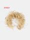 14 Colors Long Curly Wig Piece Disk Hair Caterpillars Hair Packs Bride Hair Extensions - #13