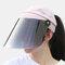 COLLROWN Women's Sun Hat Anti-UV Visor Anti-fog - Pink