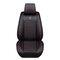 بو الجلود عام مقعد السيارة ضد للماء حصيرة يغطي تنفس وسادة فاخرة غطاء واقي لمقعد السيارة يناسب أربعة مواسم (1 قطعة) - أسود